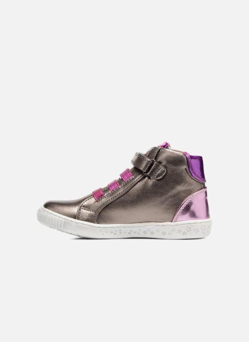 Sneakers Agatha Ruiz de la Prada Flow 4 Zilver voorkant