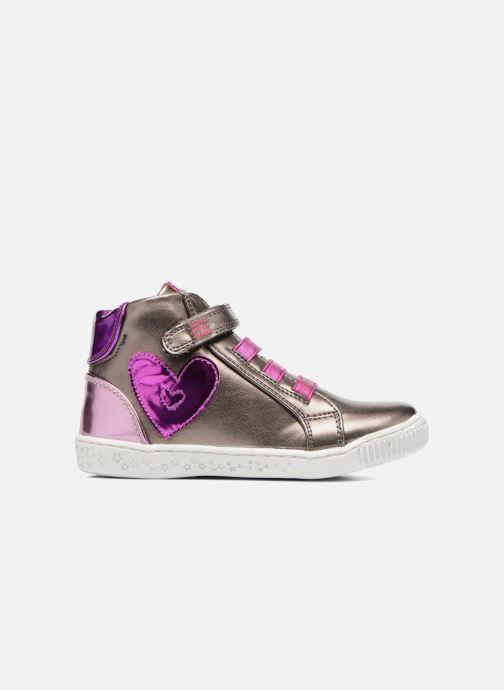 Sneakers Agatha Ruiz de la Prada Flow 4 Zilver achterkant
