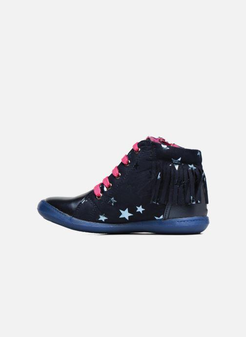 Baskets Agatha Ruiz de la Prada Clever Mid 3 Bleu vue face