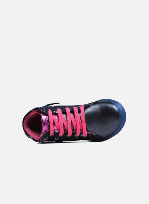 Baskets Agatha Ruiz de la Prada Clever Mid 3 Bleu vue gauche