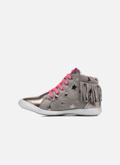 Sneakers Agatha Ruiz de la Prada Clever Mid 3 Argento immagine frontale