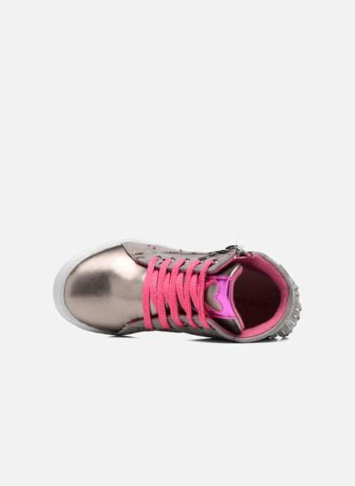 Sneakers Agatha Ruiz de la Prada Clever Mid 3 Argento immagine sinistra