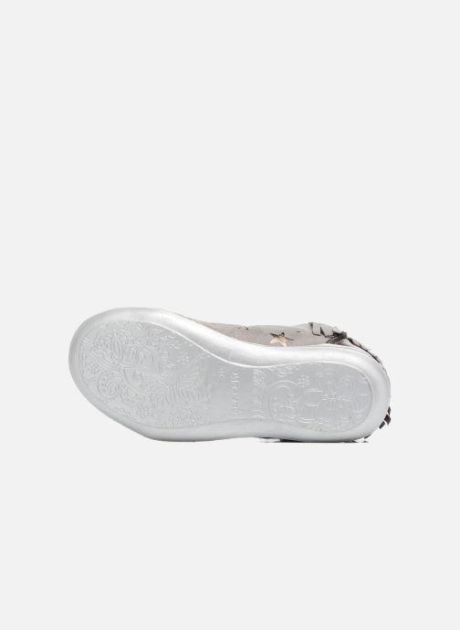 Sneakers Agatha Ruiz de la Prada Clever Mid 3 Argento immagine dall'alto