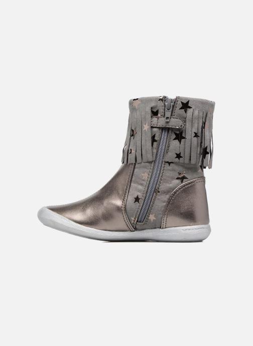 Boots & wellies Agatha Ruiz de la Prada Clever Boots 3 Silver front view