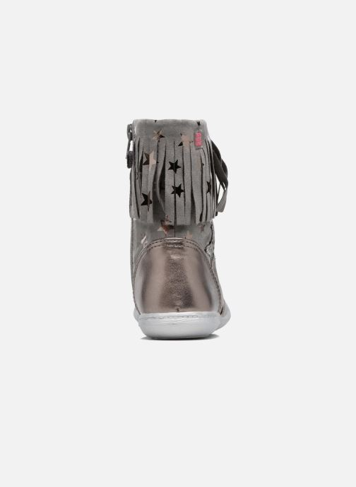 Boots & wellies Agatha Ruiz de la Prada Clever Boots 3 Silver view from the right