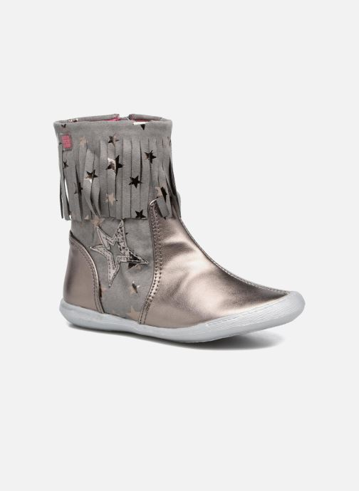 Bottes Agatha Ruiz de la Prada Clever Boots 3 Argent vue détail/paire