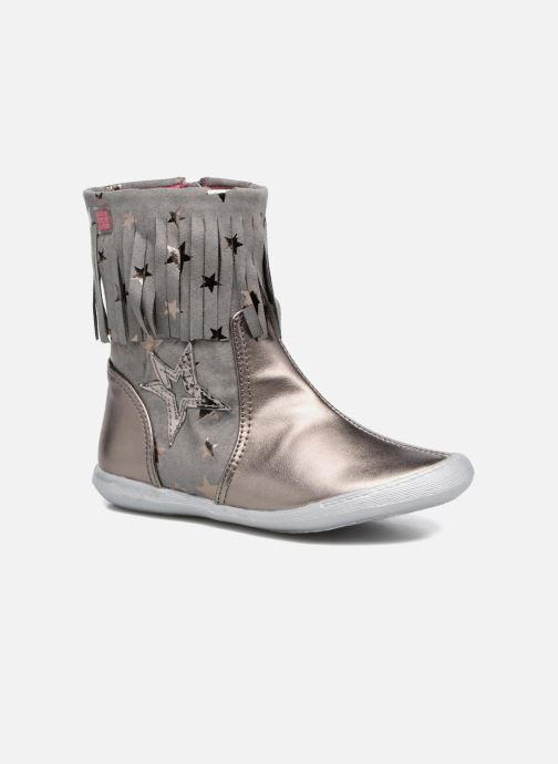 Boots & wellies Agatha Ruiz de la Prada Clever Boots 3 Silver detailed view/ Pair view