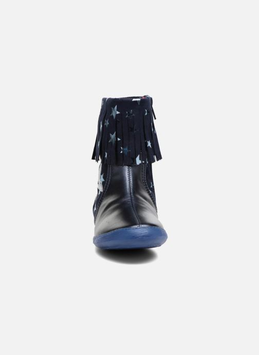 Stiefel Agatha Ruiz de la Prada Clever Boots 3 blau schuhe getragen