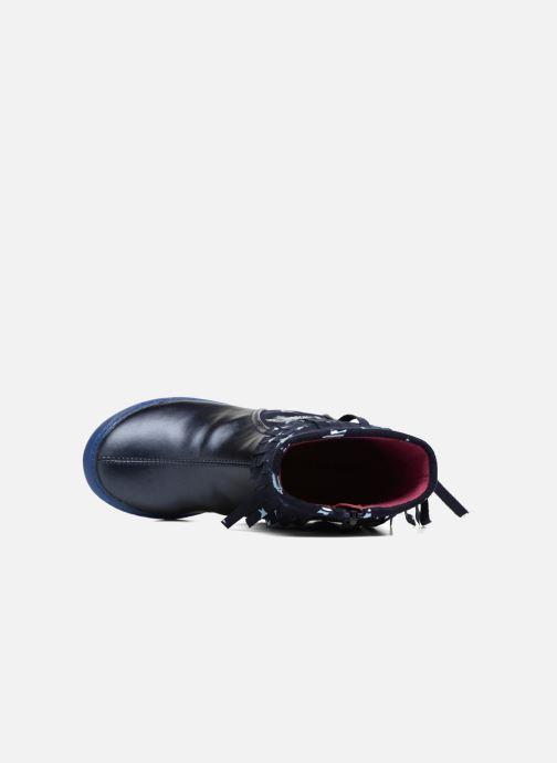 Stiefel Agatha Ruiz de la Prada Clever Boots 3 blau ansicht von links