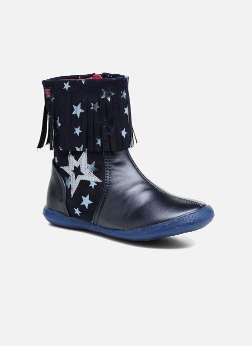 Støvler & gummistøvler Agatha Ruiz de la Prada Clever Boots 3 Blå detaljeret billede af skoene