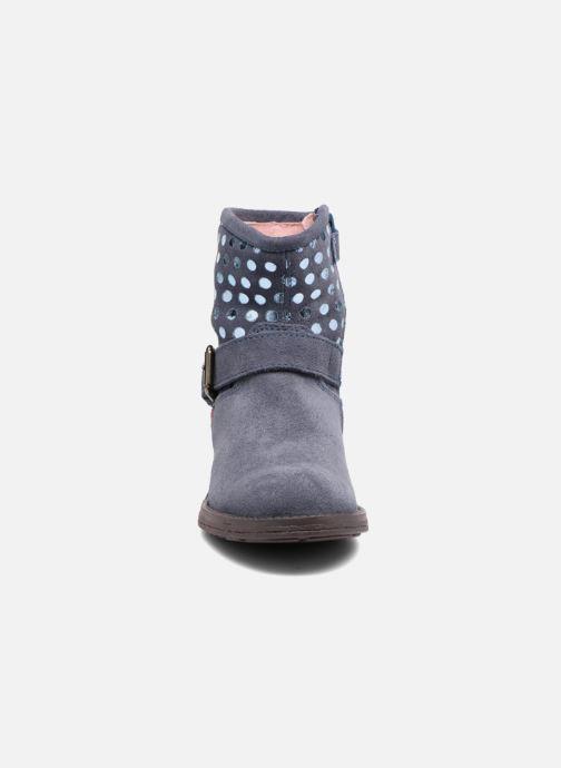 Ankle boots Agatha Ruiz de la Prada Vagabunda Blue model view