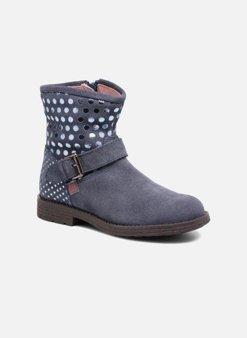 Ankle boots Agatha Ruiz de la Prada Vagabunda Blue detailed view/ Pair view