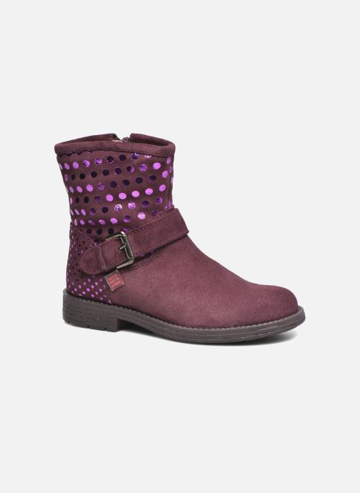 Bottines et boots Agatha Ruiz de la Prada Vagabunda Bordeaux vue détail/paire
