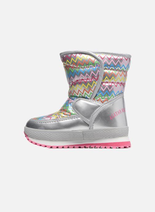 Zapatillas de deporte Agatha Ruiz de la Prada Apreski Plateado vista de frente