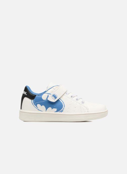Sneakers Batman Bat Marco Bianco immagine posteriore
