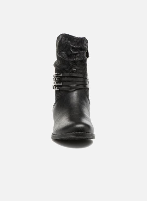 Ankelstøvler Marco Tozzi Pala Sort se skoene på