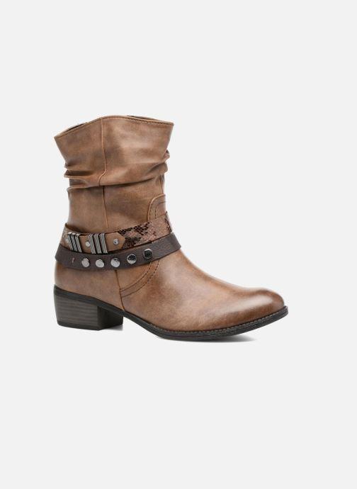 Bottines et boots Marco Tozzi Gappa Marron vue détail/paire