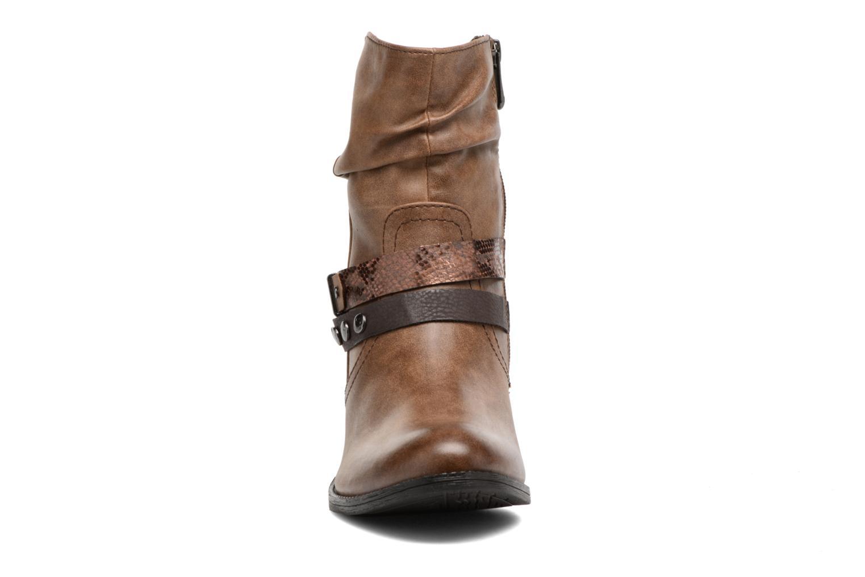 Bottines et boots Marco Tozzi Gappa Marron vue portées chaussures