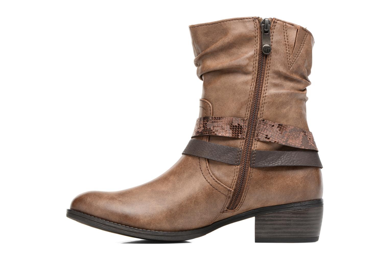 Bottines et boots Marco Tozzi Gappa Marron vue face