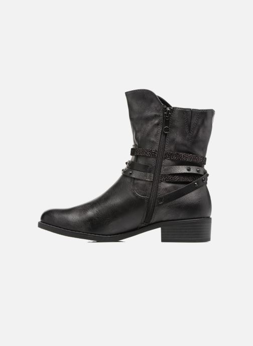 Ankle boots Marco Tozzi Mokka Black front view