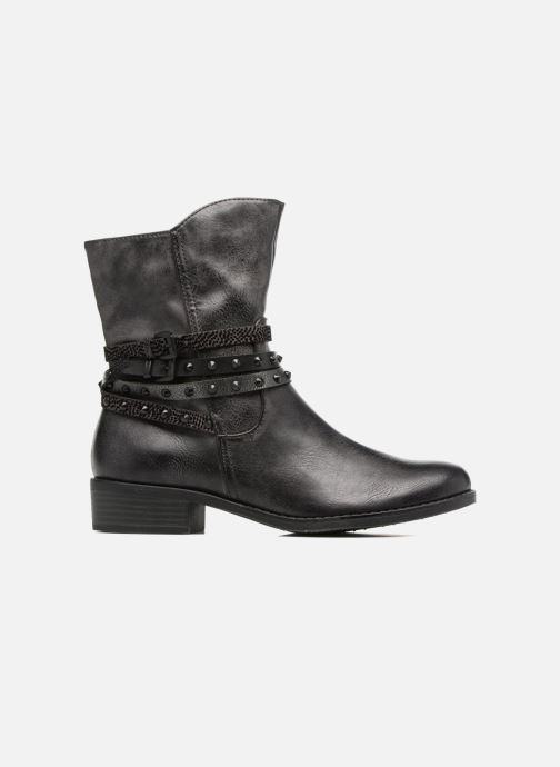 Ankle boots Marco Tozzi Mokka Black back view