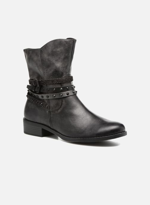 Ankle boots Marco Tozzi Mokka Black detailed view/ Pair view