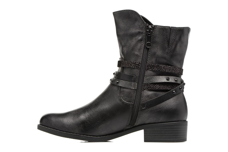 Bottines et boots Marco Tozzi Mokka Noir vue face
