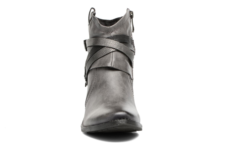 Bottines et boots Marco Tozzi Rina 2 Gris vue portées chaussures