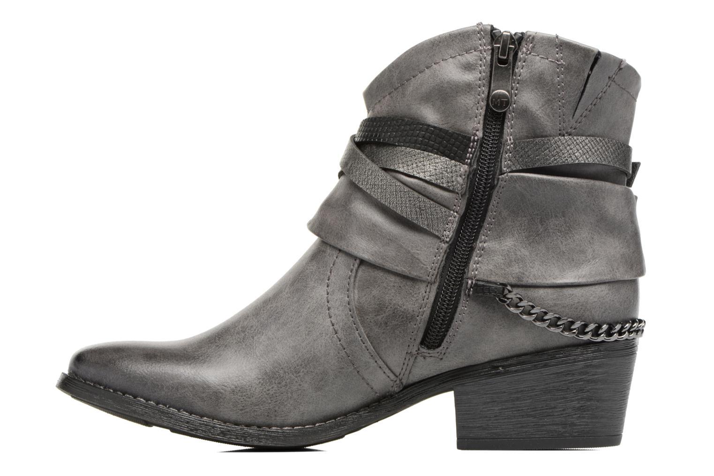 Bottines et boots Marco Tozzi Rina 2 Gris vue face