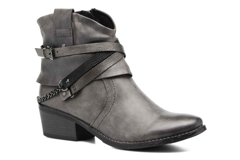 Bottines et boots Marco Tozzi Rina 2 Gris vue détail/paire