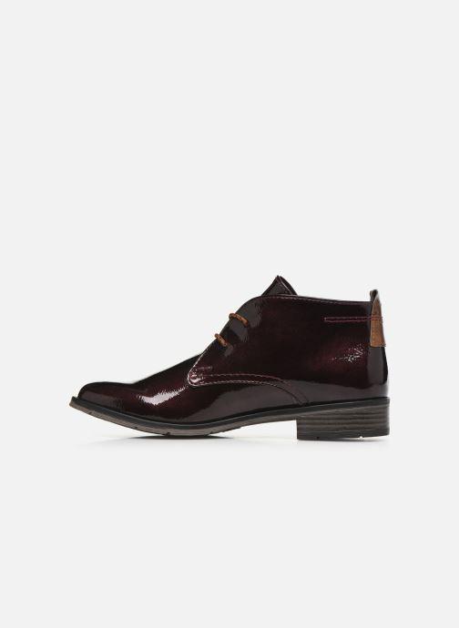 Chaussures à lacets Marco Tozzi Jina 2 Bordeaux vue face