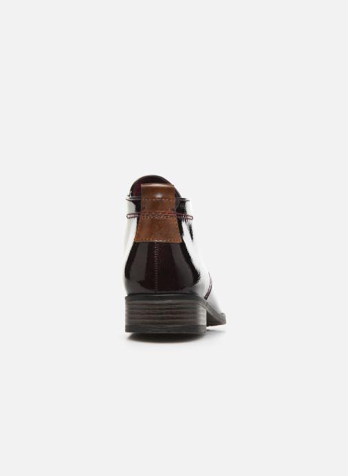Chaussures à lacets Marco Tozzi Jina 2 Bordeaux vue droite