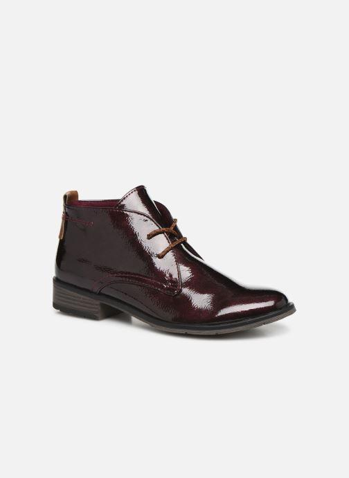 Chaussures à lacets Marco Tozzi Jina 2 Bordeaux vue détail/paire