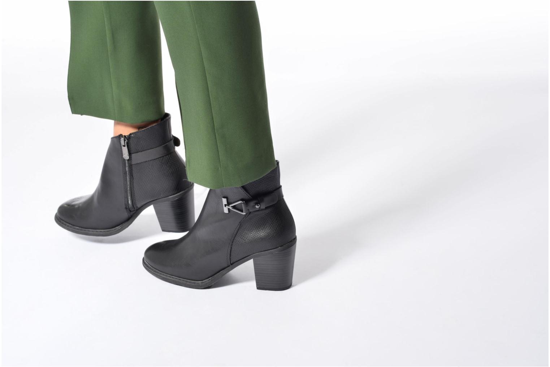Bottines et boots Marco Tozzi Bancelle Noir vue bas / vue portée sac