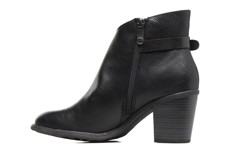 Bottines et boots Marco Tozzi Bancelle Noir vue face