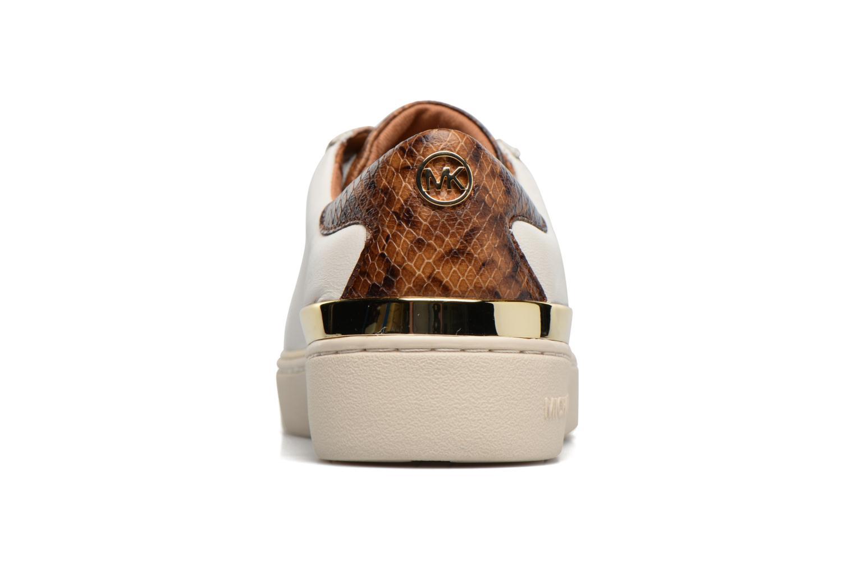 Baskets Michael Michael Kors Kyle Sneaker Blanc vue droite