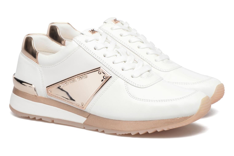 Sneakers Michael Michael Kors Allie Plate Wrap Trainer Blauw 3/4'