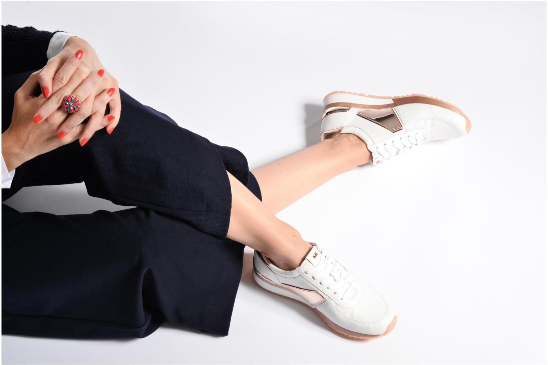 Sneakers Michael Michael Kors Allie Plate Wrap Trainer Blauw onder