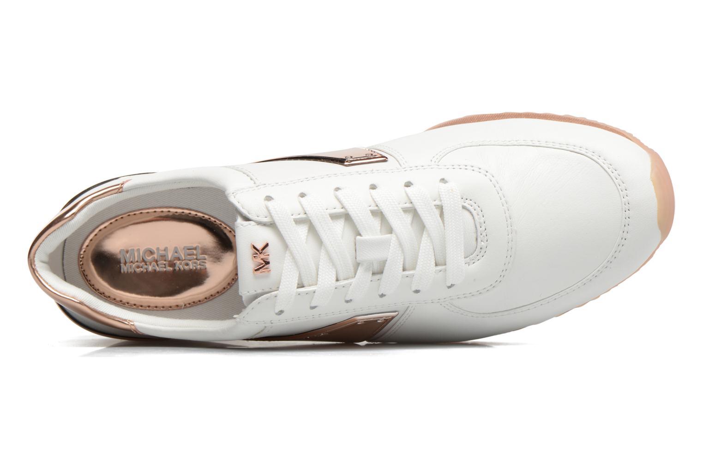 Sneakers Michael Michael Kors Allie Plate Wrap Trainer Blauw links