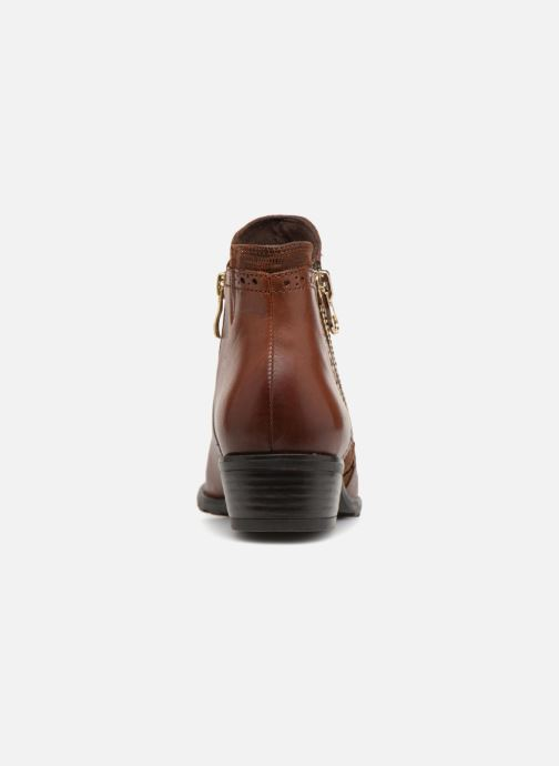 Ankle boots Caprice Kelli Brown view from the right