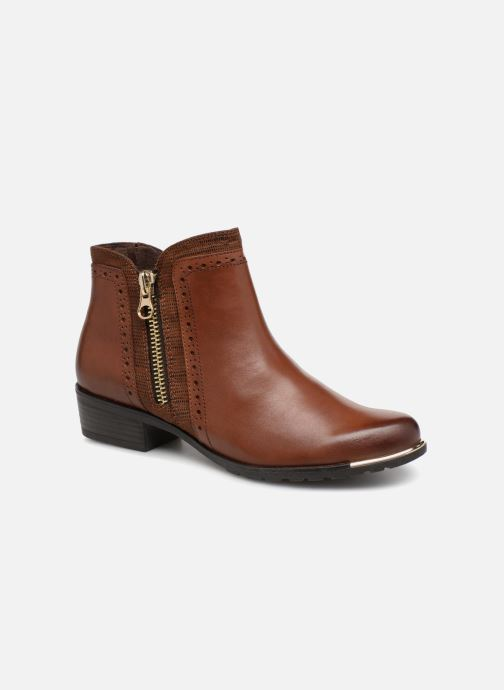 Ankle boots Caprice Kelli Brown detailed view/ Pair view