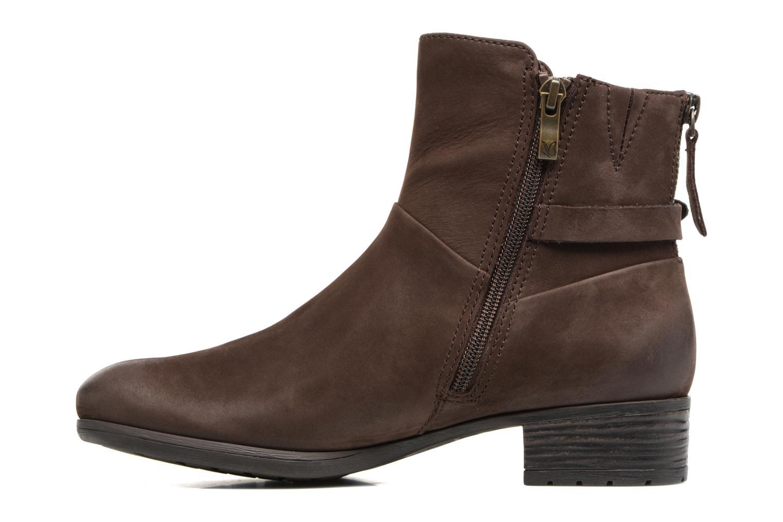Bottines et boots Caprice Dusty Marron vue face