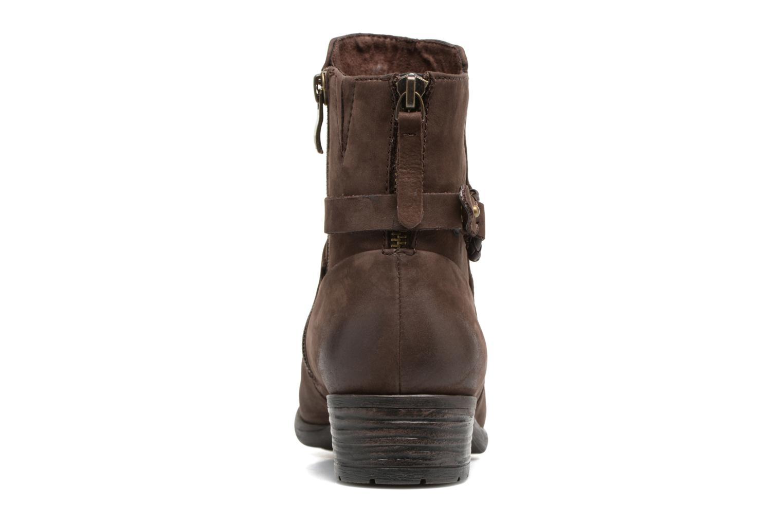 Bottines et boots Caprice Dusty Marron vue droite