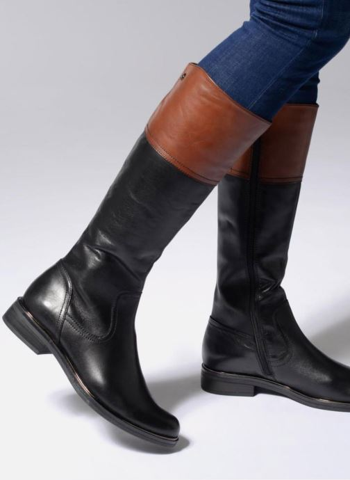Boots & wellies Caprice Kania Black view from underneath / model view