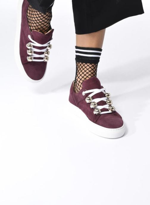 Sneakers Carven Germain Bordeaux se forneden