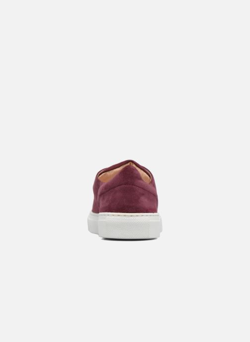 Trainers Carven Germain Burgundy view from the right