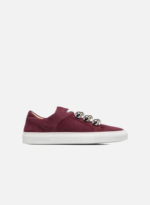 Trainers Carven Germain Burgundy back view