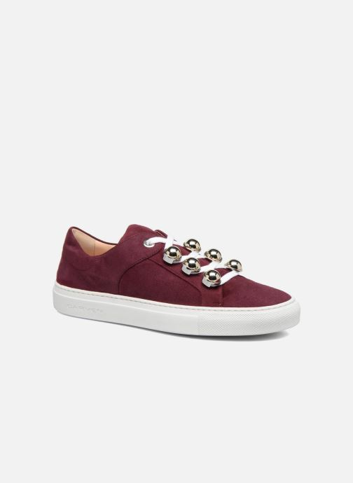 Trainers Carven Germain Burgundy detailed view/ Pair view
