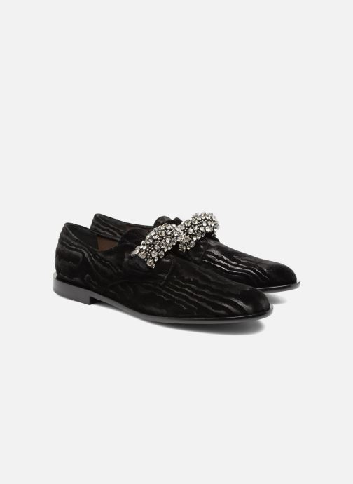 Loafers Carven Sully Black 3/4 view