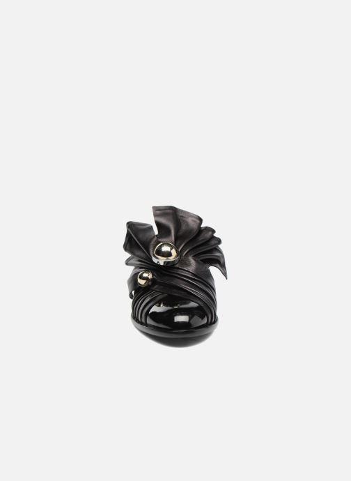 Mocassins Carven Rosa Noir vue portées chaussures